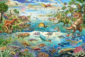 Schmidt Spiele Puzzle 56253 Entdecke die Dinosaurier, 200 Teile Kinderpuzzle - 2
