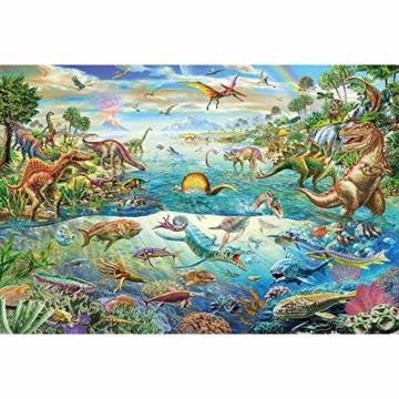 Schmidt Spiele Puzzle 56253 Entdecke die Dinosaurier, 200 Teile Kinderpuzzle - 3