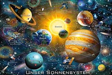 Schmidt Spiele Puzzle 56308 Unser Sonnensystem, 200 Teile Kinderpuzzle, bunt - 2