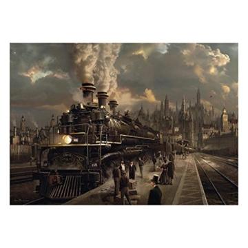 Schmidt Spiele Puzzle 58206 58206-Lokomotive, 1000 Teile Puzzle, bunt - 1