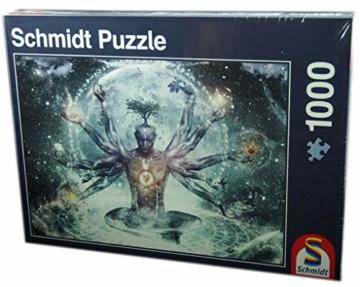 Schmidt Spiele Puzzle 58212 58212-Traum im Universum, 1000 Teile Puzzle, bunt - 4