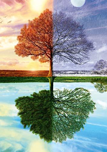 Schmidt Spiele Puzzle 58223 Puzzle 500 Teile, Jahreszeiten Baum - 3