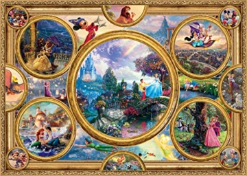 Schmidt Spiele Puzzle 59607 Thomas Kinkade, Disney Dreams Collection, 2000 Teile Puzzle, bunt - 3