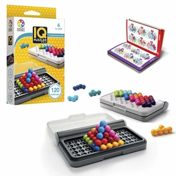 Smart Games SG455 IQ-Puzzler PRO, Geschicklichkeitsspiel, Reisespiel, Gehirntraining - 1