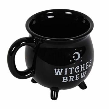 """Tasse in Kesselform mit Aufschrift """"Witches Brew"""" - 1"""