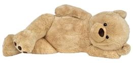 Wagner 9051 - Riesen XXL Teddybär 160 cm groß in hell-braun - Plüschbär Kuschelbär Teddy Bär in beige 1,60 m - 1
