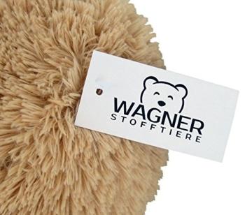 Wagner 9051 - Riesen XXL Teddybär 160 cm groß in hell-braun - Plüschbär Kuschelbär Teddy Bär in beige 1,60 m - 4