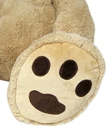 Wagner 9051 - Riesen XXL Teddybär 160 cm groß in hell-braun - Plüschbär Kuschelbär Teddy Bär in beige 1,60 m - 5