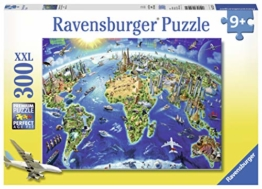 World Landmarks MAP 300 PC PUZ - 1