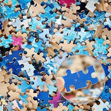 Yobooom Puzzle Erwachsene Holz Puzzle 1000 Teile (Löwe) - 3